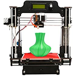 Geeetech Impresora 3D, de madera Prusa I3 Pro W de madera 3D de escritorio Kit de bricolaje con la nube WIFI, 200x200x180mm Tamaño de impresión, soporta módulo Wi-Fi , EasyPrint 3D App