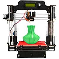 Geeetech Impresora 3D, de madera Prusa I3 Pro W de madera 3D de escritorio Kit de bricolaje con la nube WIFI, 200x200x180mm Tamaño de impresión, soporta módulo Wi-Fi, EasyPrint 3D App …