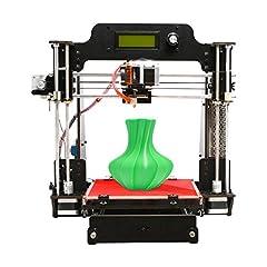 Idea Regalo - Geeetech stampante 3D, Wooden Prusa I3 Pro W desktop stampante 3D DIY Kit con WIFI Cloud, Dimensioni di stampa 200x200x180mm(7.9''*7.9''*7.1''), Supporto per la connessione Wi-Fi, EasyPrint 3D App