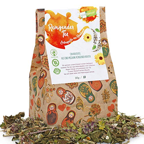Ecoflavour Reinigender Tee - Kräutertee, Loser Tee,