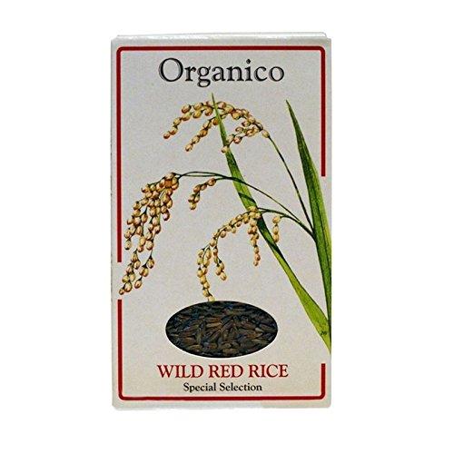 Organico Riz Sauvage Rouge De Grains Entiers 500G