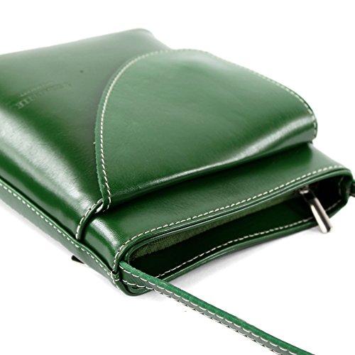 Borsa In Pelle Borsa Donna Borsa A Tracolla Piccola D17 Verde