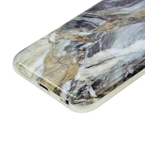 iPhone 7 Plus Marmor Hülle,iPhone 7 Plus Marble Case,Sunroyal Kreative Stylish Schickes Retro Elegant Schön Rosa Pattern Silikon Handyhülle Weiß Stein Glamour Ultradünn Marble Malerei Muster Schlank T Pattern 17