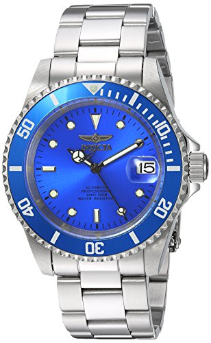 Invicta 24761 Pro Diver  Unisex Wrist Watch Stainless Steel Automatic Blue Dial