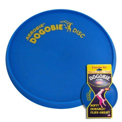 Frisbee Aerobie–Dogobie Squidgie Flying Disc Blau
