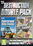 Cheapest Destruction Double Pack  Underground Mining & Demolition Simulator on PC