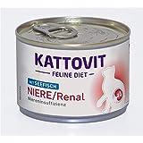 Kattovit Feline Diet - Niere / Renal mit Seefisch 12x175g
