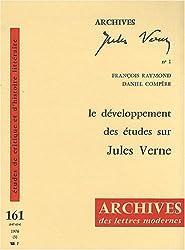 Le développement des études sur Jules Verne (domaine français)