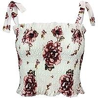 IMJONO Damen Frauen trägerlose Dot Print Elastische Bandage Brüste Banner Cami Tops BH Brust Packung