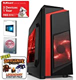ADMI Fortnite Ultra Gaming PC: AMD FX-6300 4.1GHz Six Core CPU, ASUS M5A78L-M PLUS/USB3 Motherboard, Geforce GTX 1050 2GB DDR5 Graphics Card, 1TB Hard Drive, 8GB 1600MHz DDR3 Memory, WiFi, CIT F3 Black/Red Gaming Case, Windows 10 Ready