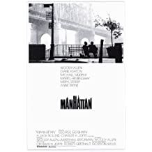 Manhattan Póster de película 11x 17en–28cm x 44cm, Woody Allen Diane Keaton Meryl Streep Mariel Hemingway Michael Murphy Wallace Shawn