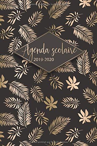 Agenda Scolaire 2019 - 2020: Agenda Scolaire et agenda semainier pour l'année scolaire de Août 2019 à Août 2020 - Agenda Etudiant et Cadeau Enfant par  ÉcolePrint