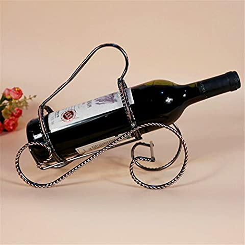 VIGVOG Retro Tabletop Wine Rack, Countertop Wine Holder Free Standing Rack Champange Bottle Rack Holder Storage