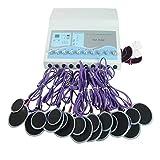 HIXGB Tens Massager - Máquina de Electroestimulación del Estimulador Muscular EMS Estimulador Muscular Eléctrico de Russian Waves para el Manejo del Dolor y la Rehabilitación