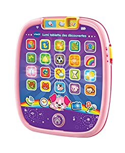 VTech Lumi tablette Des découvertes Rose Chica - Juegos educativos (AAA, 170 mm, 35 mm, 199 mm, 338 g, 250 mm)