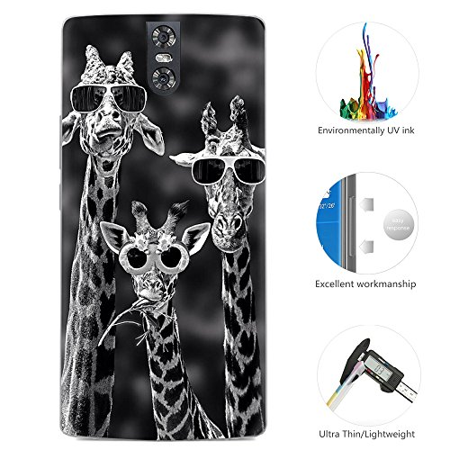 95Street Silikon Hülle für Doogee BL7000, Ultra-Clear Handyhülle für Doogee BL7000 Soft TPU Crystal Clear Premium Schutzhülle Case Backcover Bumper Slim Case für Doogee BL7000