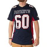 Majestic Athletic New England Patriots NFL Moro Poly Mesh Jersey T-Shirt Trikot
