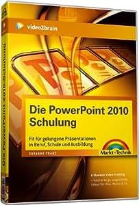 Die PowerPoint 2010 Schulung - Videotraining (PC+MAC+Linux)