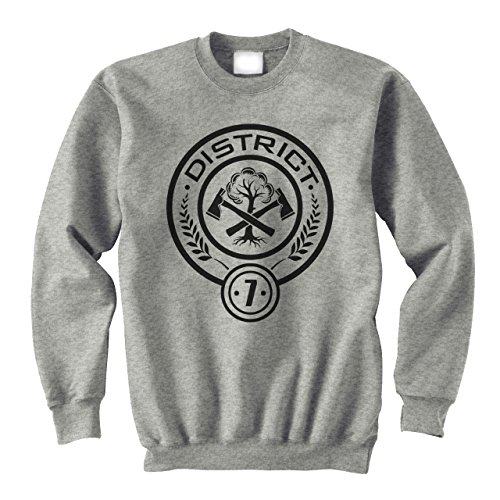 Hunger Games Districts 7 XXL Unisex Sweater