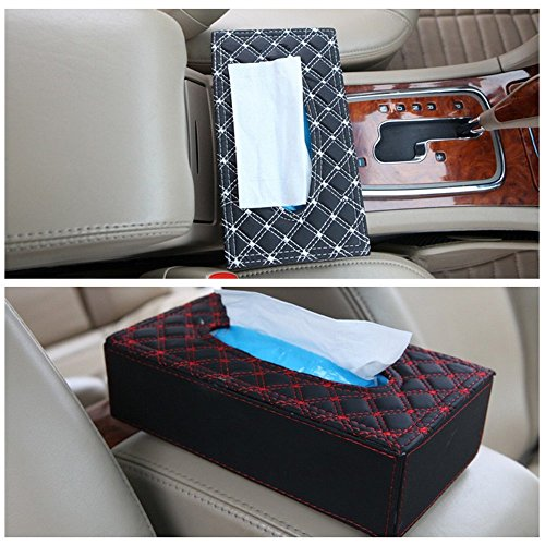 nikavi portable leather rectangular tissue cover box holders case pumping paper car hotel home gift NIKAVI Portable Leather Rectangular Tissue Cover Box Holders Case Pumping Paper Car Hotel Home Gift 51S7hVnZydL