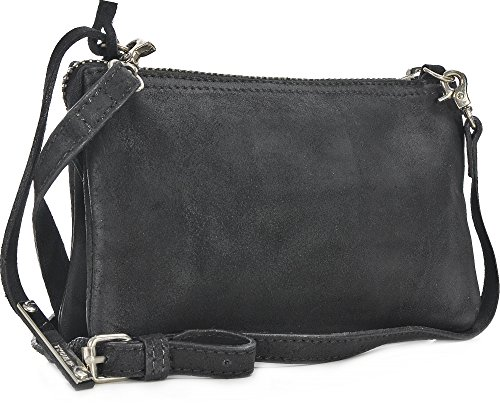 Tyoulip Sisters Cosmic sac à bandoulière en cuir petites dames (20 x 13,5 x 2 cm) Schwarz