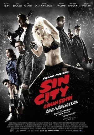 SIN CITY : A DAME TO KILL FOR – Turkish Imported Movie Wall Poster Print - 30CM X 43CM Brand New (Dvd City Für Dame To Sin Kill)