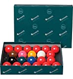 bilie-biglie-Palle Snooker, Aramith Biliardo con buche, specialita Snooker Inglese, 22 bilie Diametro m. 52,4