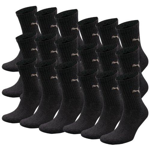 PUMA-crew-lot-de-6-paires-de-chaussettes-de-sport-avec-dessous-en-ponge-de-18-Gris-anthrazit-43-46