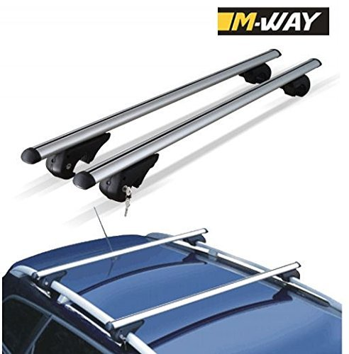 Preisvergleich Produktbild m-way nnrb1045.13Aluminium Dach Aero Bars Rack Sperren Rails Eagle