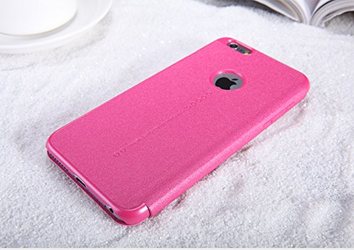 Nillkin Sparkle Klappschutzhülle Leder Schutzhülle für Apple iPhone 6Plus–parent rot