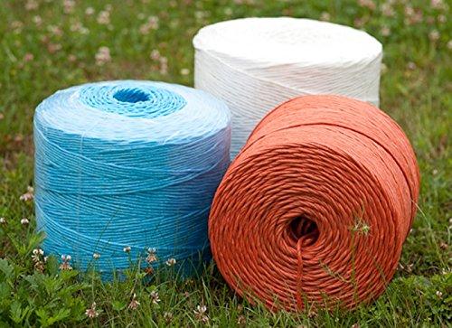 farmtex Erntegarn 400 blau 2 x 5 kg, Bindegarn, Pressengarn, Kunststoffgarn, Kordel