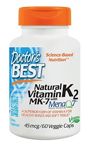 DOCTOR`S BEST DB Witamina K-2 MK7 MQ7 60 vcapsule