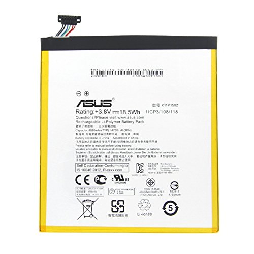 batteria tablet asus Batteria Pila Interna Originale TABLET Asus C11P1502 ZENPAD ZEN PAD 10 P023 Z300 Z300CL Z300C