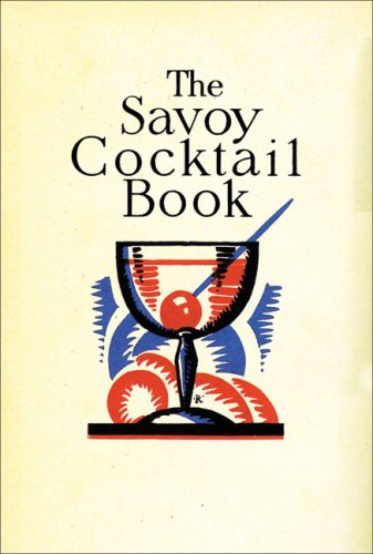 Savoy Cocktail Book Pdf