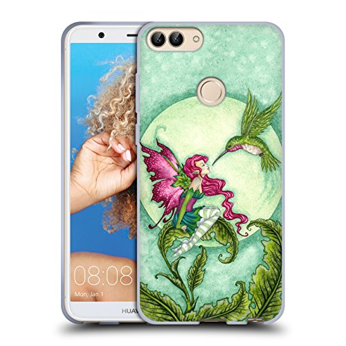 Ufficiale Amy Brown Flirtare Leggende Cover Morbida In Gel Per Huawei P Smart / Enjoy 7S