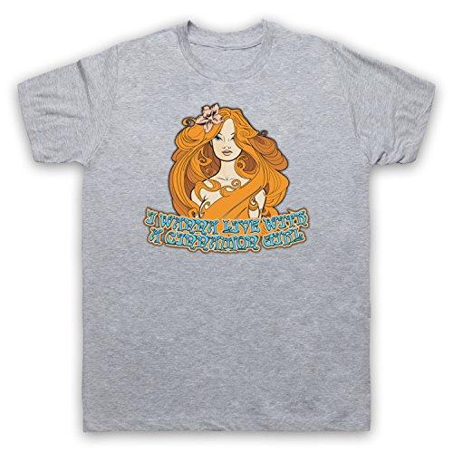 Inspiriert durch Neil Young Cinnamon Girl Unofficial Herren T-Shirt Grau