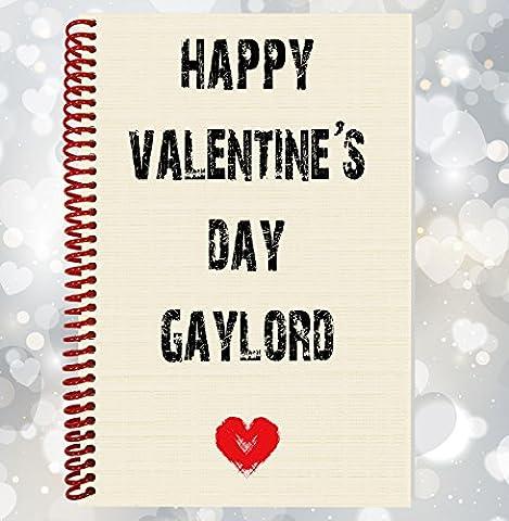 Happy Valentine's Day Gaylord–drôle, Rude ordinateur portable, cadeau Saint Valentin