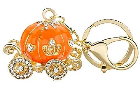 SaySure - Pumpkin Carriage Crystal For Hallowmas Fairy Tale