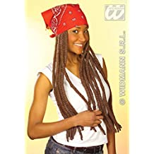 Rasta wig with bandana (peluca)
