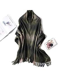 c5e38c94860f9 AFBLR Col écharpe châle Écharpe à carreaux imitation écharpe en cachemire  femme hiver épais ...