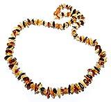 Collier Ambre Véritable Adulte en forme naturelle - Ambre Véritable Adulte (45 cm) - Multicolor