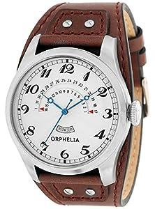ORPHELIA Hombre One & Only Reloj de pulsera analógico cuarzo piel