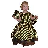 Seruna Bienen-Kostüm, AN27 Gr. 2-4 Jahre, für Klein-Kinder, Babies, Bienen-Kostüme Biene Kinder-Kostüme Fasching Karneval, Kleinkinder-Karnevalskostüme, Kinder-Faschingskostüme, Geburtstags-Geschenk