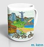 Tasse Rio de Janeiro Zeichnung