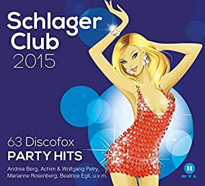 Schlager Club 2015-63 Discofox Party Hits(Best of