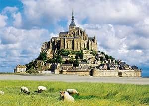 Nathan - 87727 - Puzzle - Vue sur Le Mont Saint Michel - 1500 Pièces
