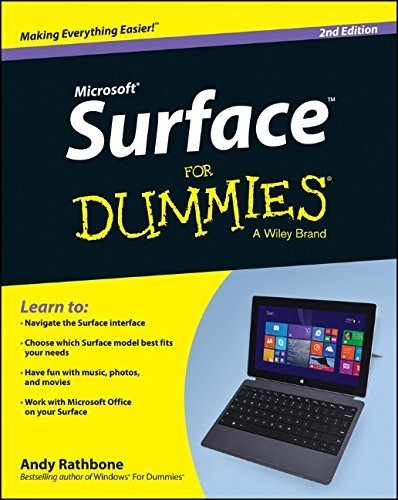Surface For Dummies by Rathbone, Andy (2014) Paperback