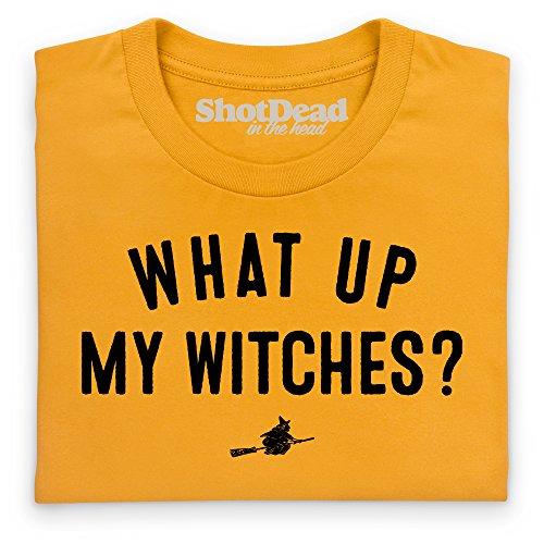 My Witches T-Shirt, Damen Gelb