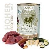AniForte® PureNature Nassfutter 400g Wild Forest Hundefutter- Naturprodukt für Hunde (Frisches Wild, 6x400g) - 3