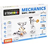 Engino Discovering Stem Mechanics Levers & Linkages Building Kit (106 Piece) by Engino